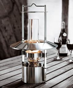 Oil lamp we use every day. Stelton