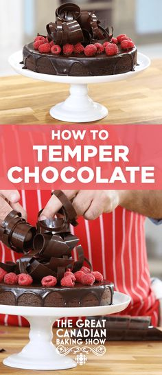 How to temper chocolate | CBC Life