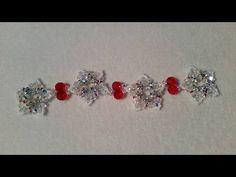 (Tutorial) Live Snowflake Christmas Bracelet - YouTube
