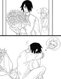 | Pequeños cómics SasuNaru | - 🌻