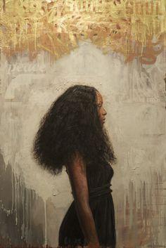 "Tim Okamura ""The Crown"" (I love her hair. So much energy.)"