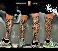 samoan back tattoos Calf Sleeve Tattoo, Calf Tattoo, Sleeve Tattoos, Polynesian Leg Tattoo, Samoan Tattoo, Shin Tattoo, Bicep Tattoo, Dream Tattoos, Badass Tattoos