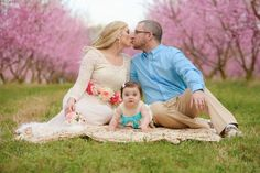 South Carolina Spring Peach Tree Session