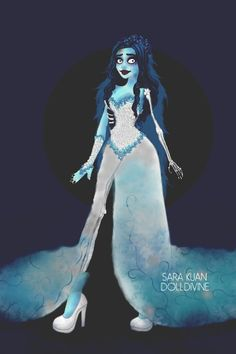 Corpse Bride ~ by starshipsally ~ created using the Urban Chic doll maker | DollDivine.com