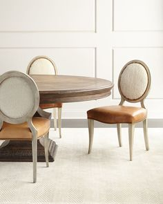 Donabella Table + Oren Chairs. Absolutely love the chairs!!