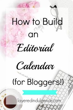 Is your blog in need of some major organization? An editorial calendar will be your saving grace. Using an Excel template, I'll show you how to organize your thoughts and ideas into a monthly schedule, so you'll never be stuck when it comes to writing blog posts again! Click through to learn how to build an editorial calendar for your blog, or save this pin for later!