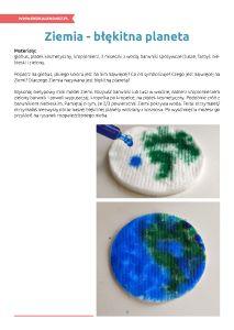 Światowy Dzień Oceanów – pakiet edukacyjny: Ziemia - błękitna planeta Water Art