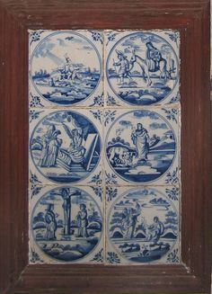 dutch blue and white tiles - Google Search