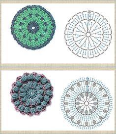 Crochet Circles, Crochet Earrings, Jewelry, Jewlery, Jewerly, Schmuck, Jewels, Jewelery, Fine Jewelry