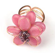 Peace Love Bling — Thai Blossom Ring