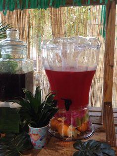 Fruit punch for Tiki bar.