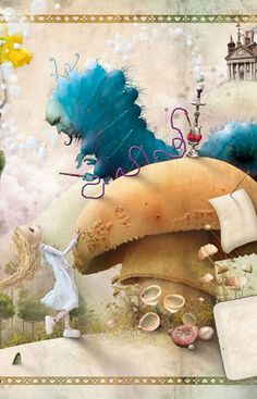 De 'Alicia en el País de las Maravillas' por Zdenko Basic