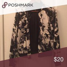 Selling this Black Bomber on Poshmark! My username is: kishamichelle. #shopmycloset #poshmark #fashion #shopping #style #forsale #Forever 21 #Jackets & Blazers