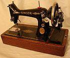 VINTAGE 1929 HAND CRANK SINGER 'Model 99' SEWING MACHINE (antique, pre-war) - http://sewingpins.net/sewing-machine/vintage-1929-hand-crank-singer-model-99-sewing-machine-antique-pre-war/