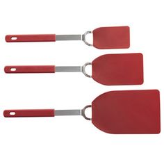 Shop CHEFS Flexible Nylon Spatulas, Set of 3 at CHEFS.    ~XOX