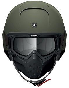Amazon.com: Shark RAW Blank Helmet (Matte Green, X-Small): Automotive
