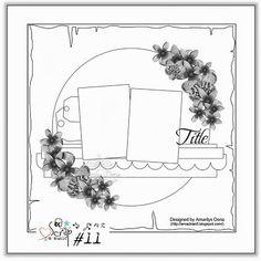 Scrap & Music: Sketch #11...Sweet Child O' Mine