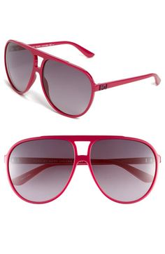 Marc by Marc Jacobs Aviator Glasses.need these in black! Blue Aviator Sunglasses, Aviator Glasses, Cute Sunglasses, Oversized Sunglasses, Sunglasses Women, Sunnies, Blue Aviators, Latest Sunglasses, Marc Jacobs Sunglasses