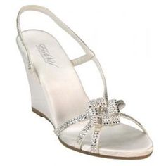Totes Luna Wedding Shoes, I am definitely getting some wedges for out door wedding :)