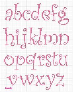 curlz minuscolo, lower case alphabet