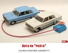 "Auta na ""pilota"" Retro Toys, Vintage Toys, Poland People, Poland Country, Poland Travel, Good Old Times, My Childhood, Old School, The Past"