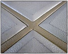 ..leather paneling