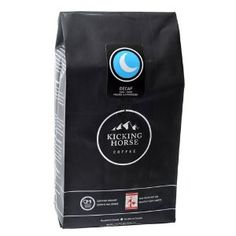 Kicking Horse Coffee Decaf , Whole Bean Coffee, 2.2-Pound Pouch from Kicking Horse Coffee at the Exotic Coffee Bean
