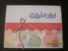 Stampin'Up! card idea | Birthday | by SU Demonstrator Shirley McKay, The Daily Stamper