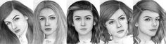 One Direction Female Version Sketch