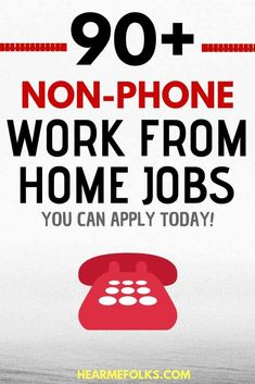 Looking to get hired and make money online? Here's a quick list of 90 non-phone legitimate non-phone work from home jobs you can apply today to make money online by hearmefolks Read Digital Marketing Strategy, Marketing Program, Affiliate Marketing, Marketing Jobs, Online Marketing, Work From Home Moms, Make Money From Home, Way To Make Money, Money Fast