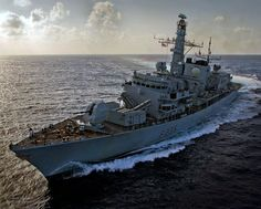 Royal Navy Type 23 Frigate HMS Monmouth