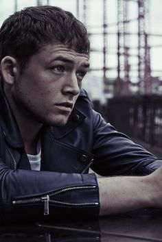 Pinning down newcomer Taron Egerton takes a few attempts because...