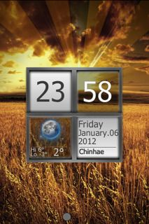 Download free Grain Field & Sunset Clock For IPhone Theme Mobile Theme Apple mobile theme. Downloads hundreds of free iPhone,iPhone 3G,iPhone 3G S,iPhone 4G,iPhone 4,iPhone 4S,iPhone 5,iPhone 5s,iPhone 5c themes to your mobile.