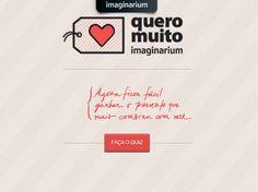 Já conhece o App Quero Muito? Conectando pelo Facebook você participa de um quiz interativo que vai ajudar a achar os produtos Imaginarium que tem tudo a ver com você, um amigo ou alguém especial. Praticidade + Diversão = Quero Muito! <3
