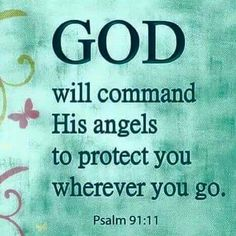From my fav Bible passage. Prayer Quotes, Bible Verses Quotes, Bible Scriptures, Faith Quotes, Spiritual Quotes, Psalms Verses, The Words, Psalm 91 11, Psalm 91 Prayer