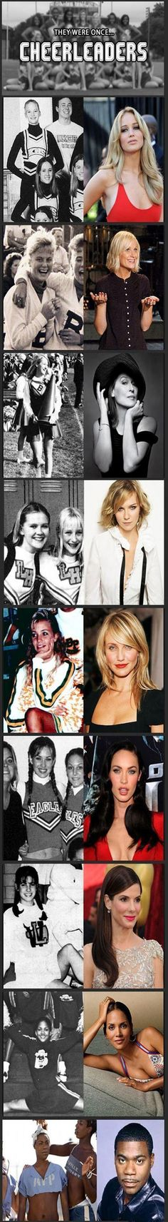 Celebrities Who Used To Be Cheerleaders – 10 Pics