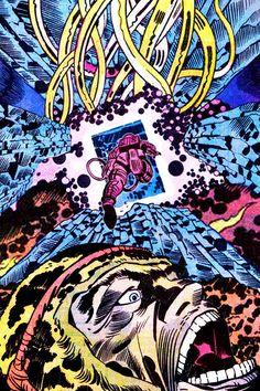 """howlingscience: """"Jack Kirby """""""
