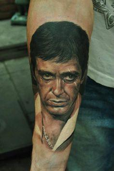 Tattoo Al Pacino - Scarface