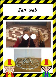 De bouwhoek: Bouwinspiratie Reggio Emilia, Halloween, School, Fun, Crafts, Spiders, Crafting, Halloween Labels, Diy Crafts