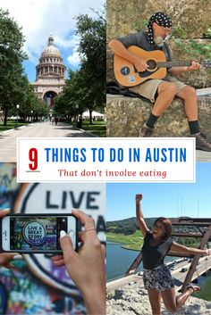 Heading to Austin, Texas? Check out these 9 things to do in the city that do not involve eating.