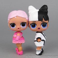 Surprizamals and the L.O.L. Surprise Confetti Pop dolls.