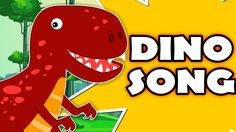 Dinosaur Song | Original Nursery Rhymes For Kids |  Songs For Childrens ...