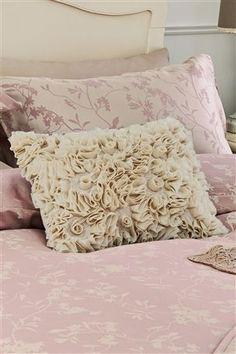 Chiffon Ruffle Cushion