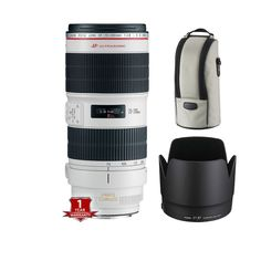 Canon EF 70-200mm f/2.8L IS II USM Lens Click on Thumbnail to Enlarge The EF 70-200mm f/2.8L IS II USM Lens from Canon improves upon its predecessor, ... #lens #canon
