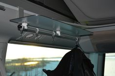 VW T5/T6 California Campingzubehör - Door Side Shelf, right, 60 cm With Rod