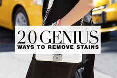 20 tips and tricks to remove all stains
