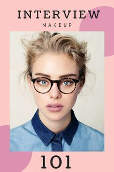 Ideas How To Wear Makeup With Glasses Hair Eyeglasses How To Wear Headbands, How To Wear Scarves, Job Interview Makeup, Fall Wedding Shoes, How To Wear Makeup, Makeup Jobs, Makeup Hacks, Japanese Face, Eyeglasses