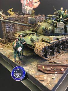 Military Guns, Military Art, Good Morning Vietnam, M48, Armoured Personnel Carrier, Military Action Figures, Vietnam War Photos, Scale Art, Model Tanks