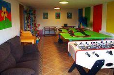 Casa rural Belastegui en Navarra con sala de juegos