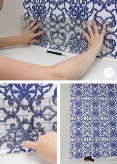 Renter-Friendly Wallpaper Installation - Yes, You Can Install Wallpaper
